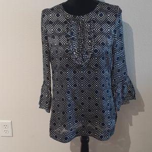 TORY BURCH size 4 Silk/Rayon blouse